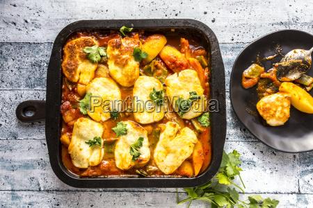 potato bake potato sugar pea tomato