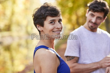 couple during sport