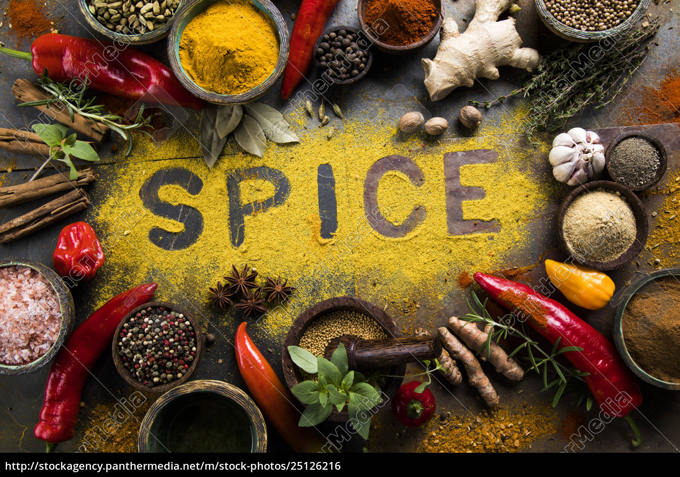 assorted, spices - 25126216