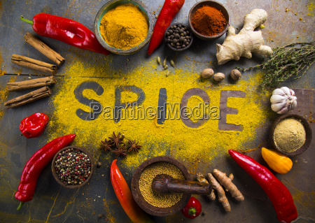 assorted, spices - 25126384
