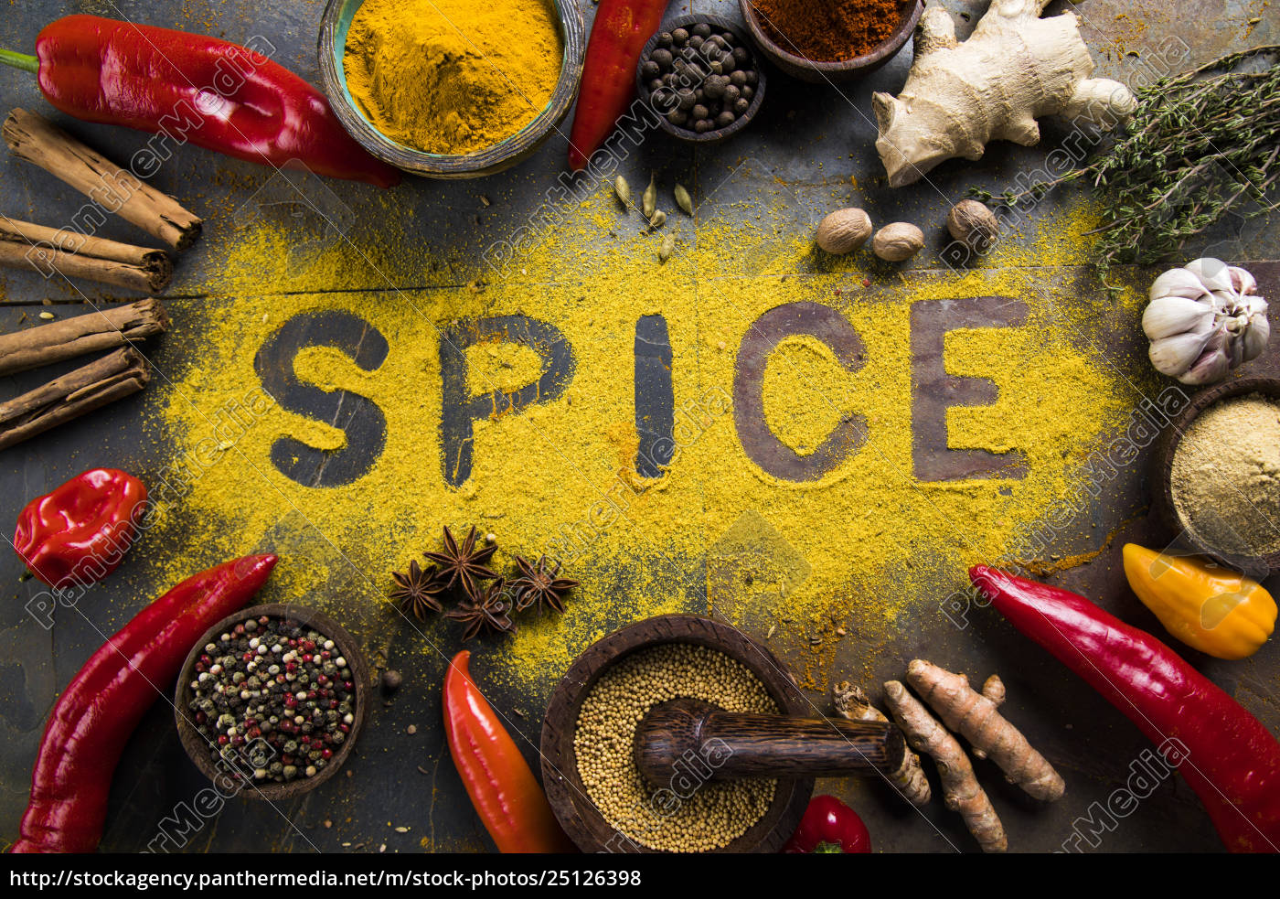 assorted, spices - 25126398
