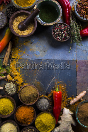 frame, , hot, spices - 25126096