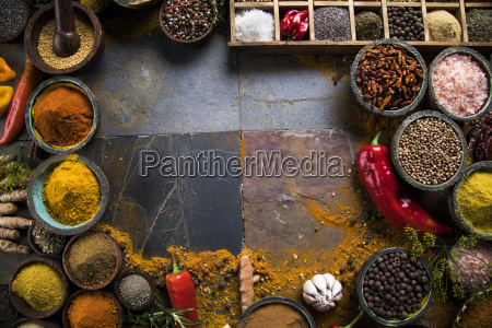 frame, , hot, spices - 25126298