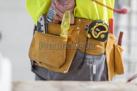 close up of construction worker with