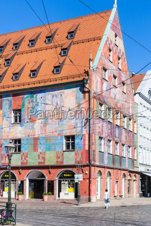 view of weberhaus weaver guild house