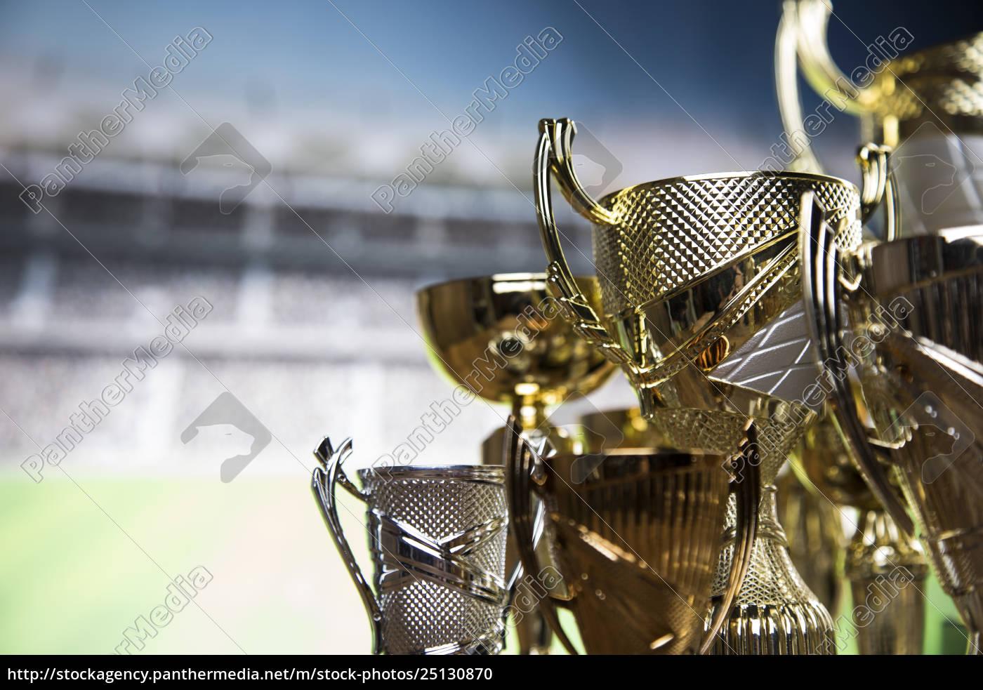 award, winning, trophy, sport, background - 25130870