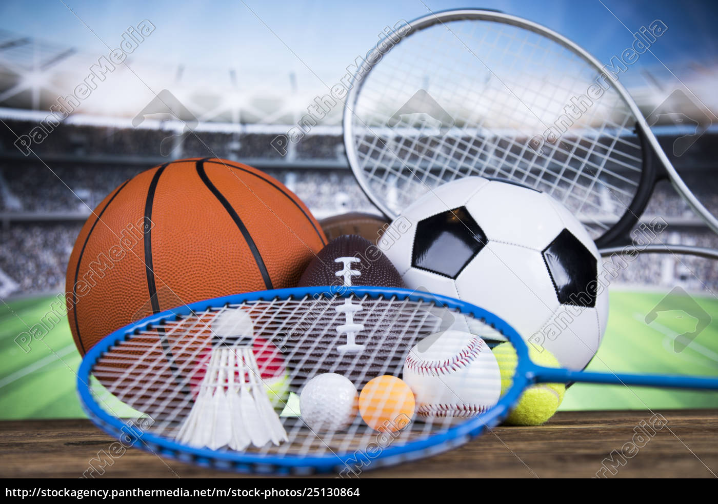 sport, , a, lot, of, balls, and - 25130864