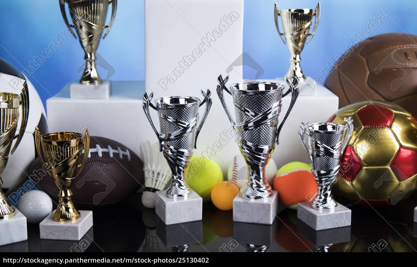 sport, podium, , cups, of, winners, award - 25130402