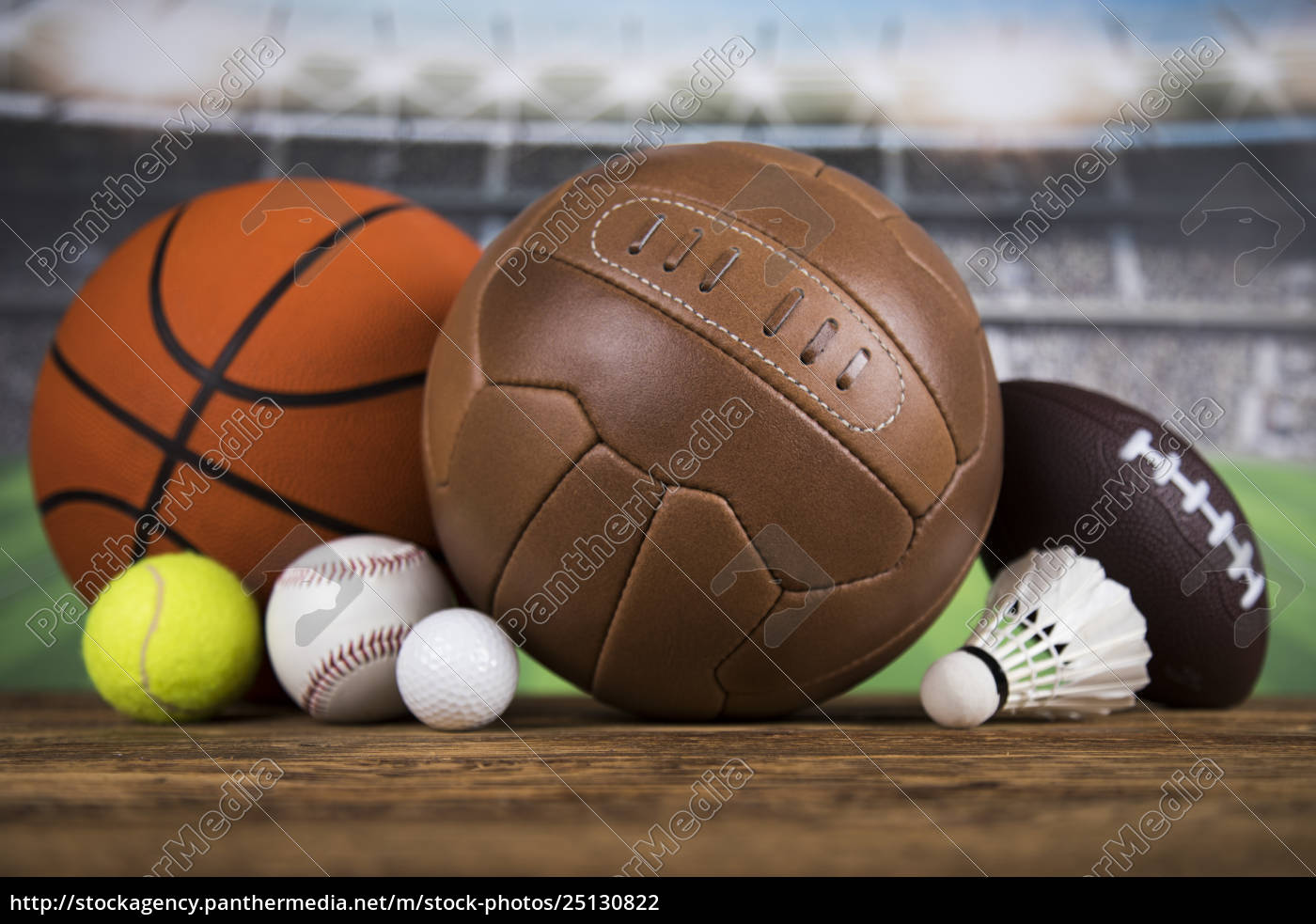 sports, balls, with, equipment - 25130822