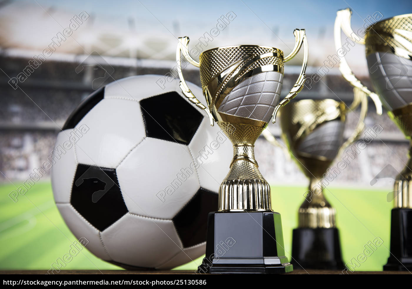 trophy, for, champion, , sport, background - 25130586