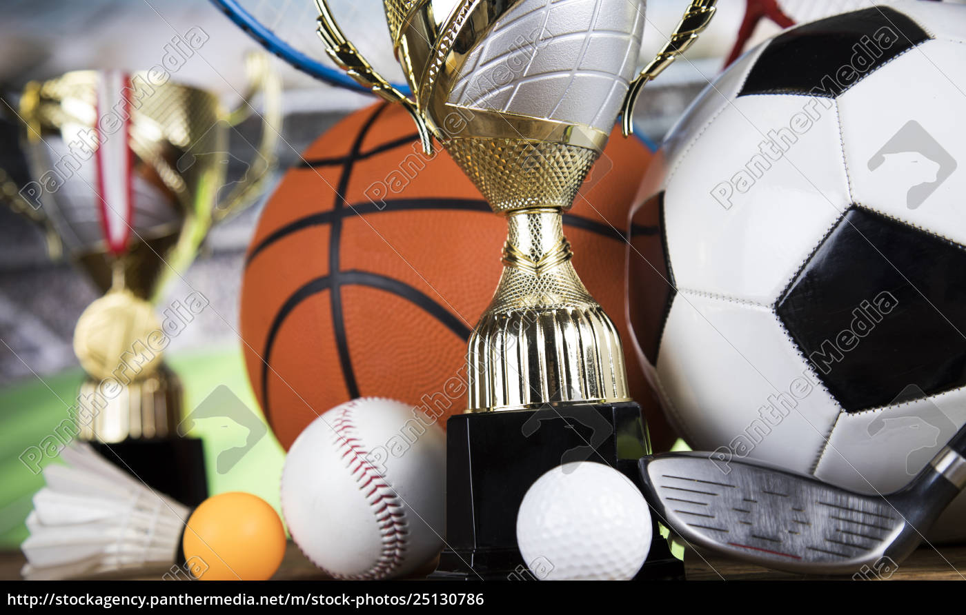trophy, for, champion, , sport, background - 25130786