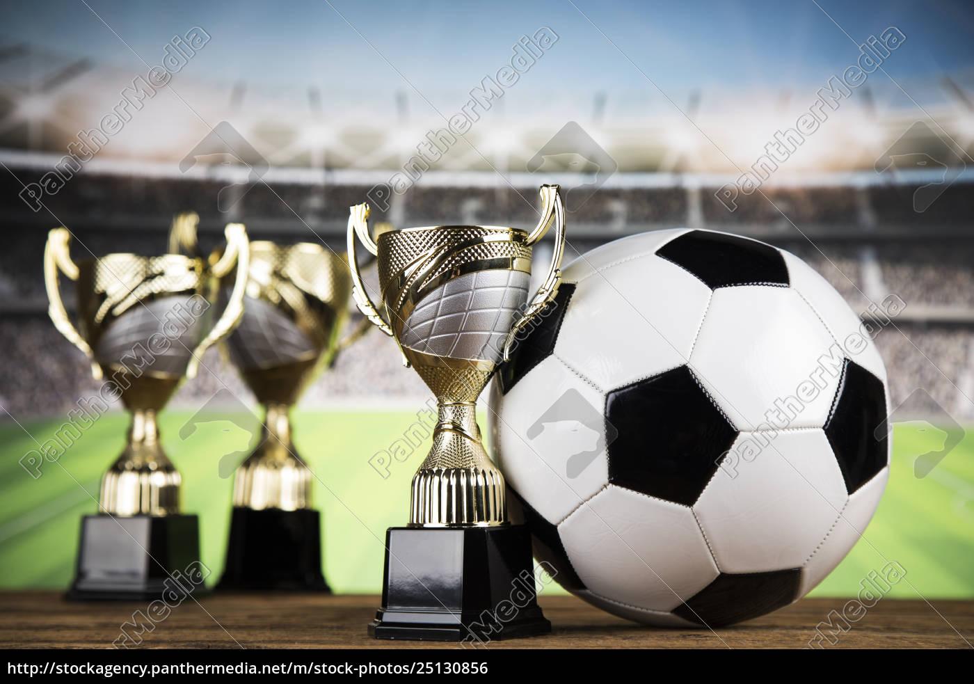 trophy, winning, , sport, ball, background - 25130856
