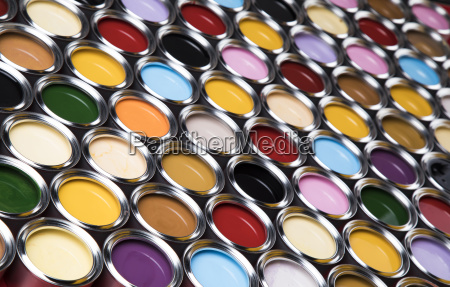 background, from, multi, color, cans, of - 25131492