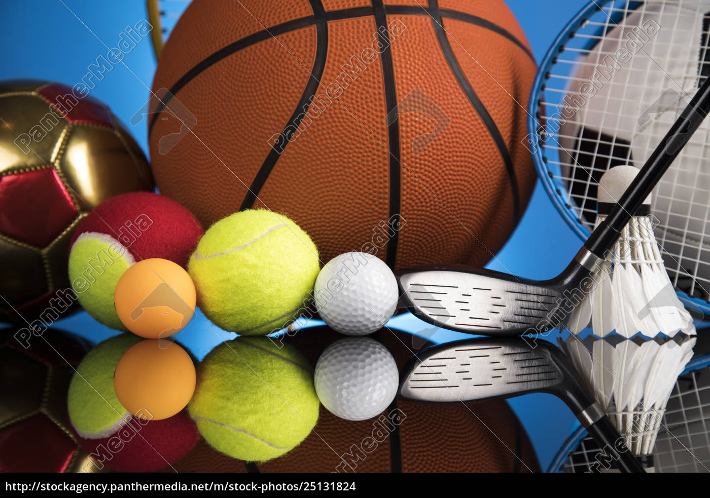 group, of, sports, equipment - 25131824