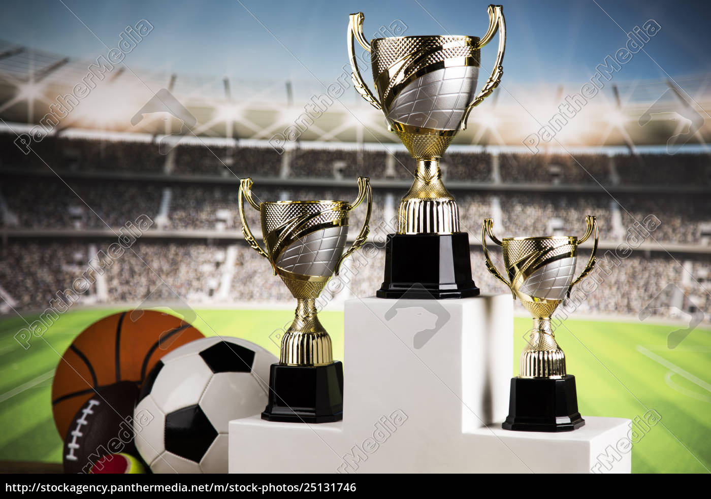 sport, podium, , cups, of, winners, award - 25131746