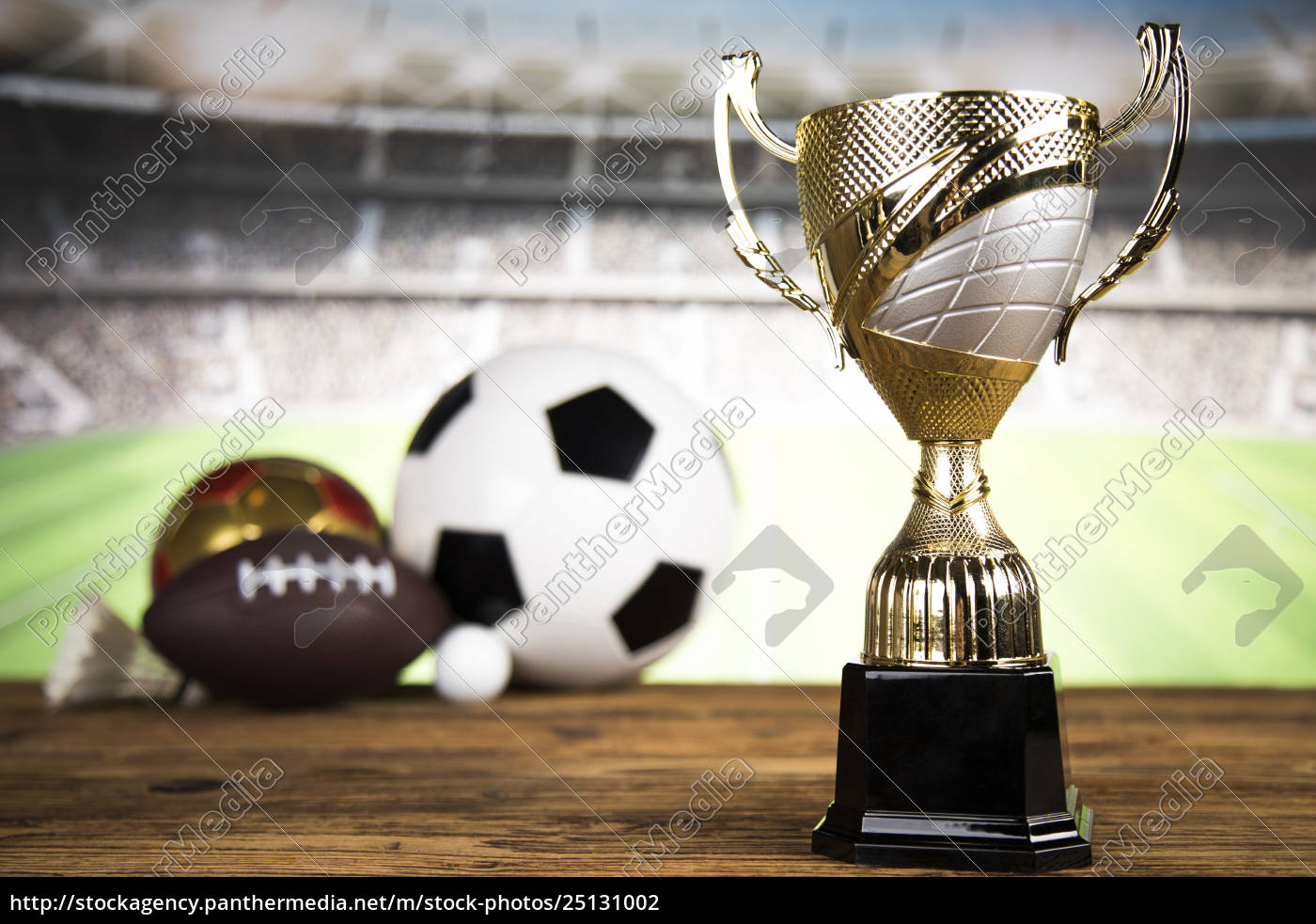 trophy, for, champion, , sport, background - 25131002