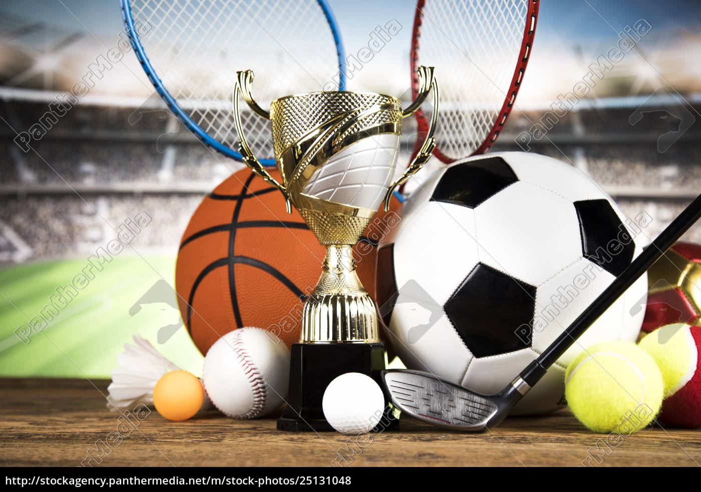 trophy, for, champion, , sport, background - 25131048