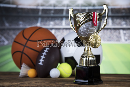 trophy, for, champion, , sport, background - 25131236