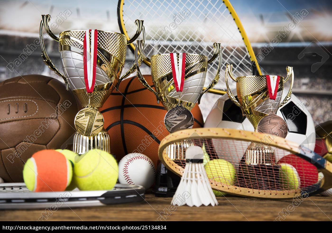 achievement, trophy, , winning, sport, background - 25134834