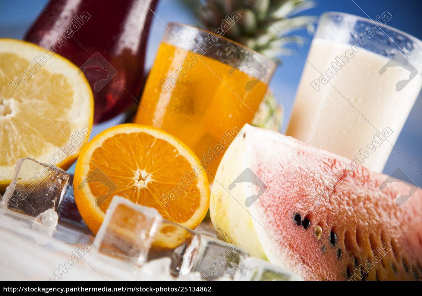 exotic, summer, drinks - 25134862