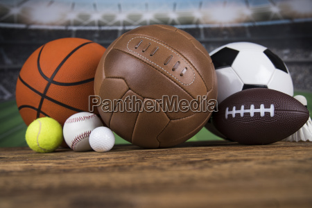 group, of, sports, equipment - 25134318