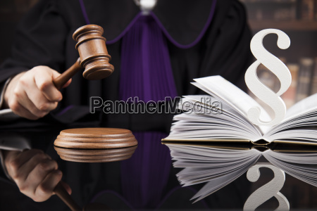 striking, mallet, , judgment, concept, , book, background - 25134830