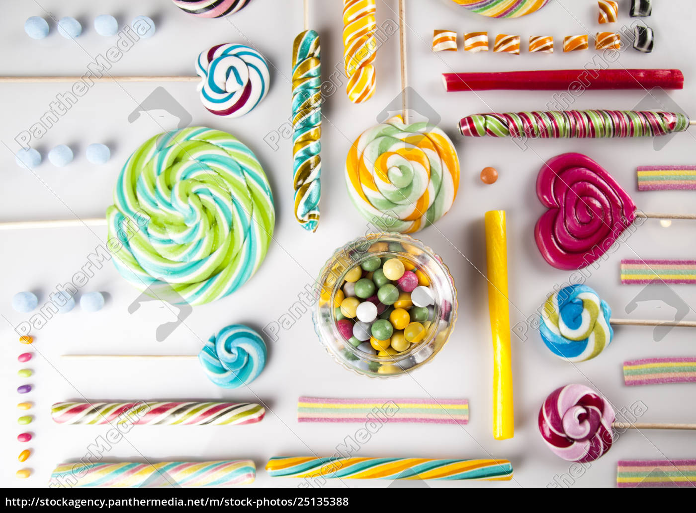 assorted, candies, including, lollipops, , gum, balls - 25135388