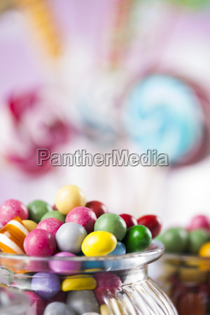 colorful, lollipops, and, different, colored, round - 25135364