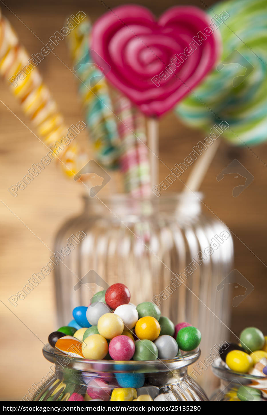 different, colorful, sweets, and, lollipops - 25135280
