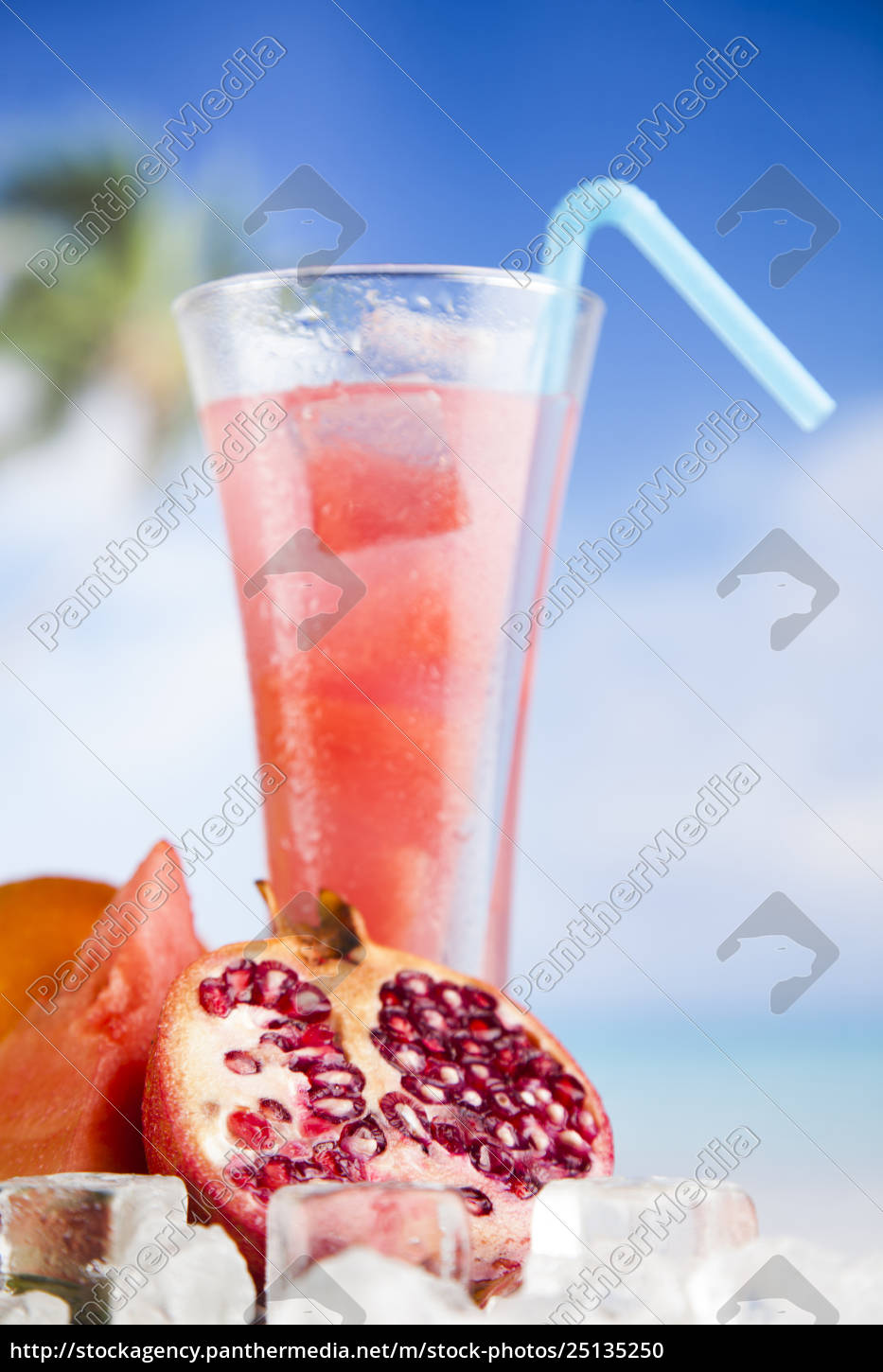 fresh, tropical, fruits, , summer, drink, and - 25135250