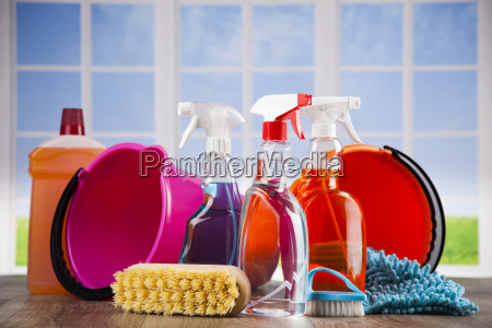 group, of, assorted, cleaning, and, window - 25135290