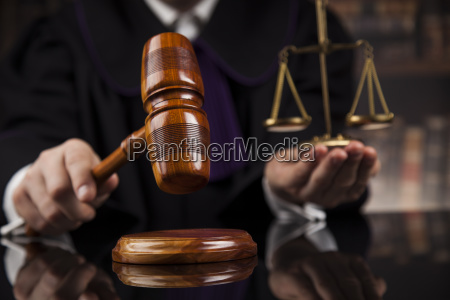 justice, and, law, concept., male, judge - 25135530