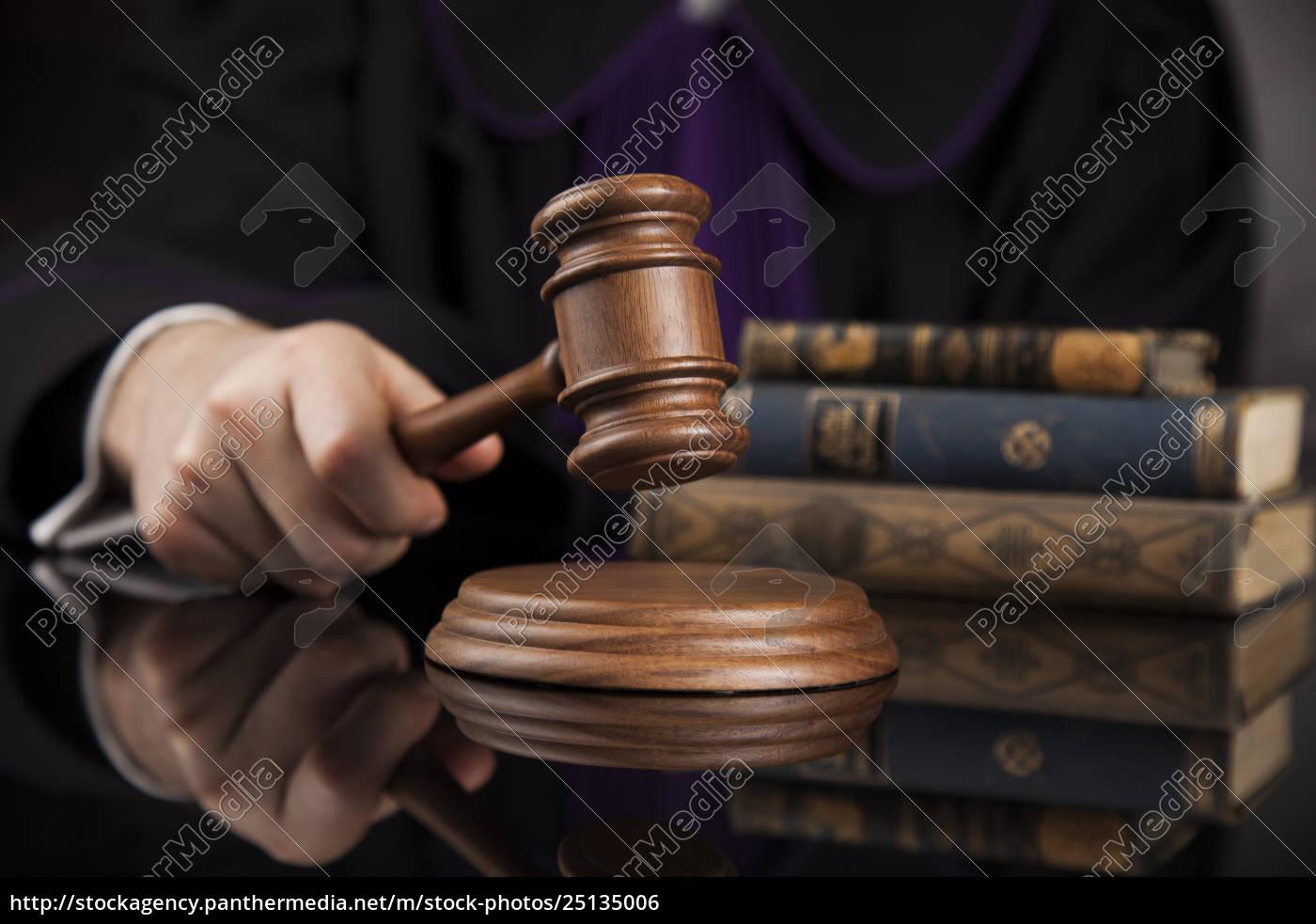 law, concept, , male, judge, in, a - 25135006