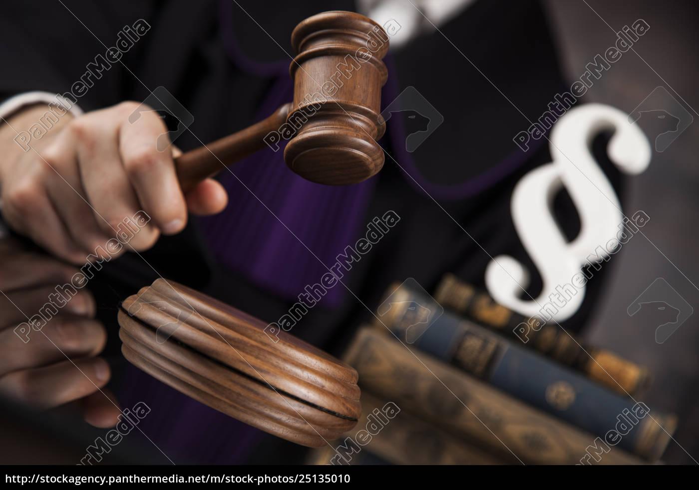 law, concept, , male, judge, in, a - 25135010