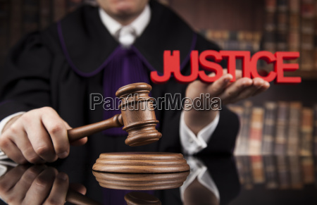 law, concept, , male, judge, in, a - 25135050