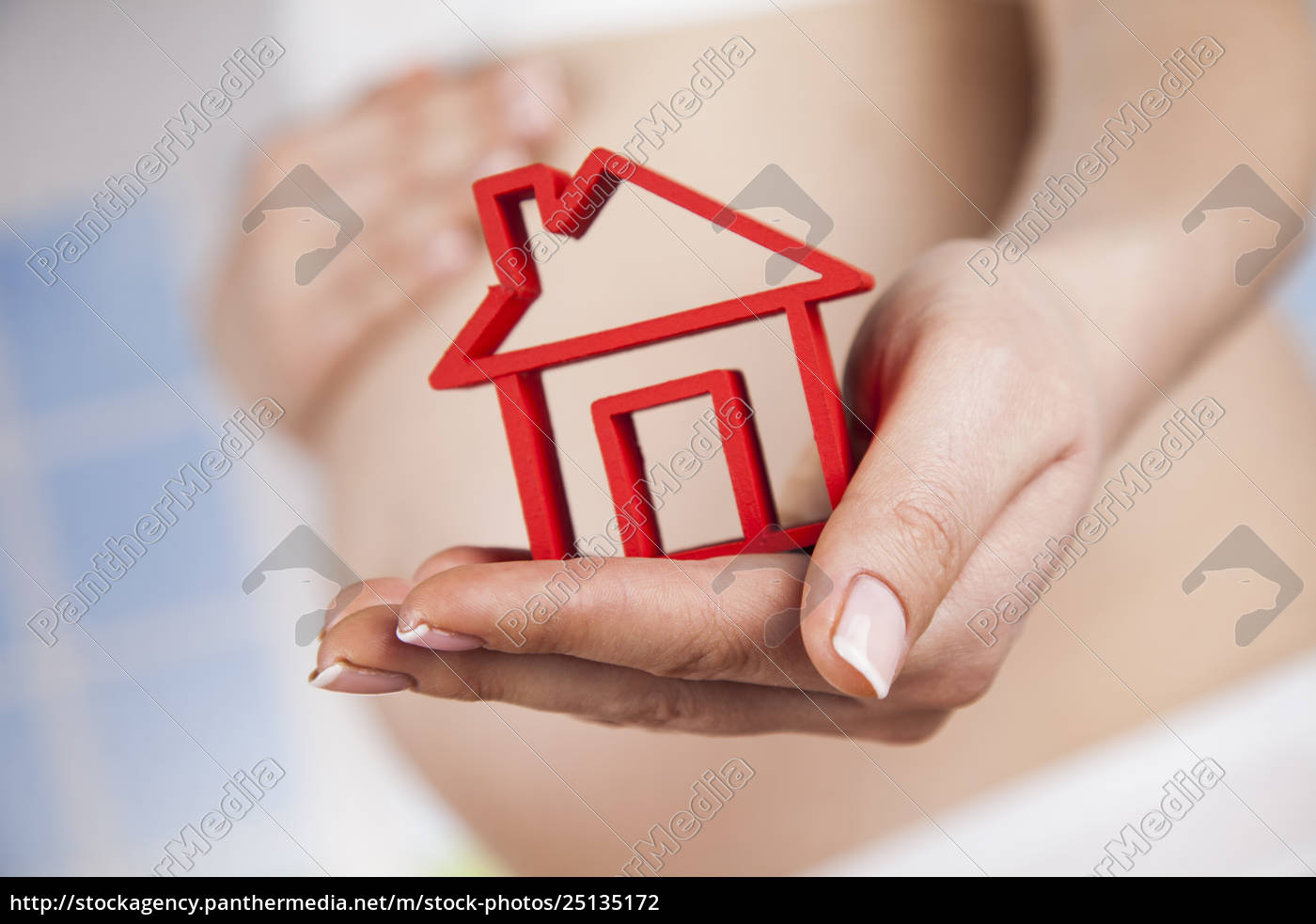pregnant, new, home - 25135172