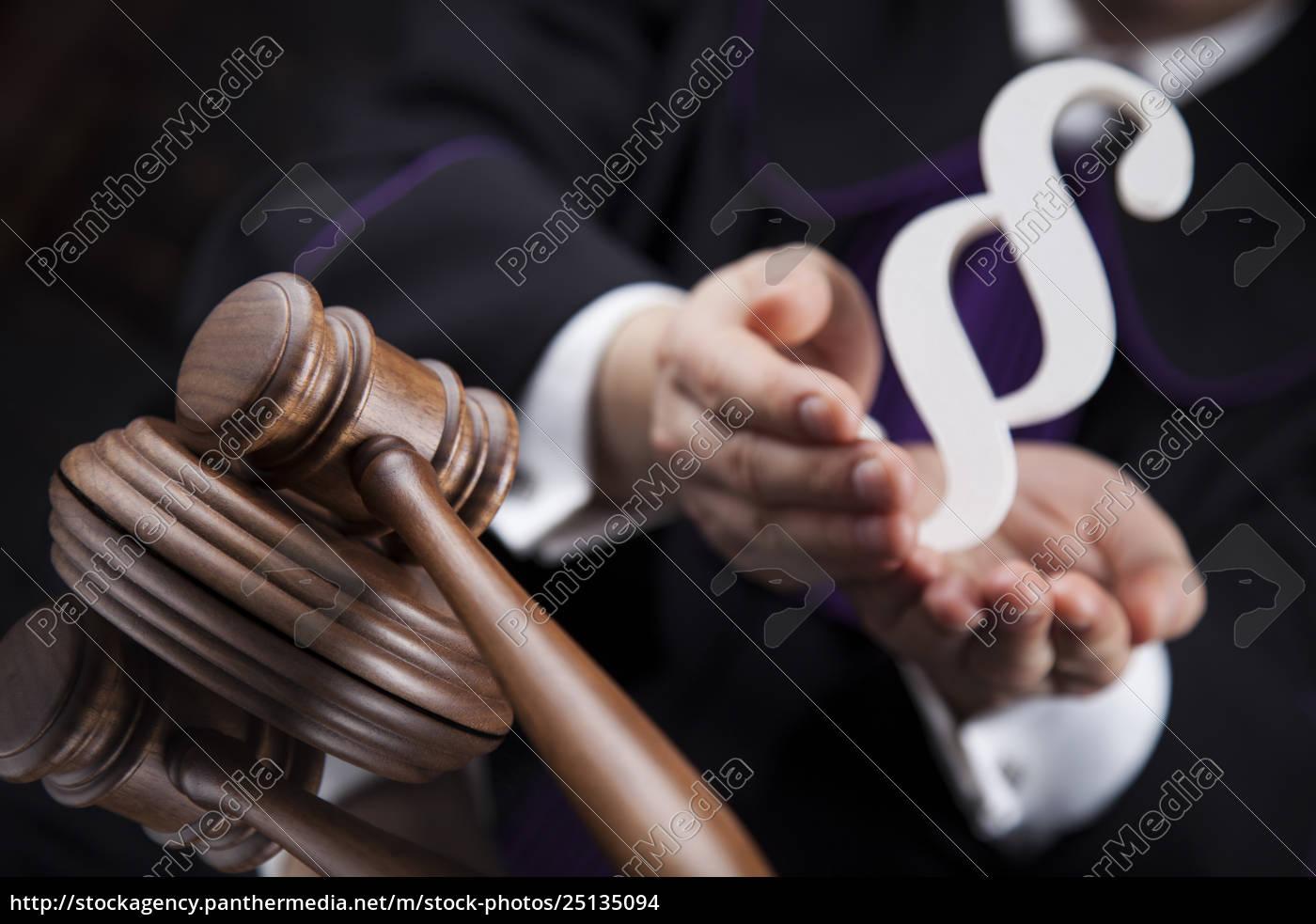 striking, mallet, , judgment, concept, , book, background - 25135094