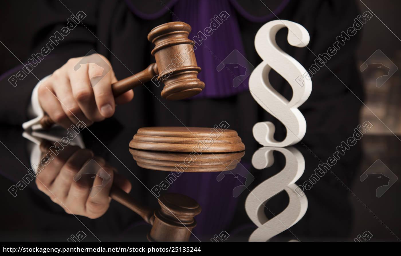 striking, mallet, , judgment, concept, , book, background - 25135244
