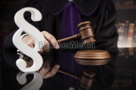 striking, mallet, , judgment, concept, , book, background - 25135522