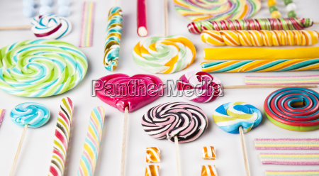 assorted, candies, including, lollipops, , gum, balls - 25136140