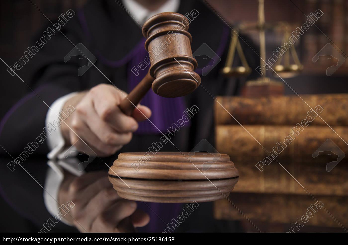 law, concept, , male, judge, in, a - 25136158