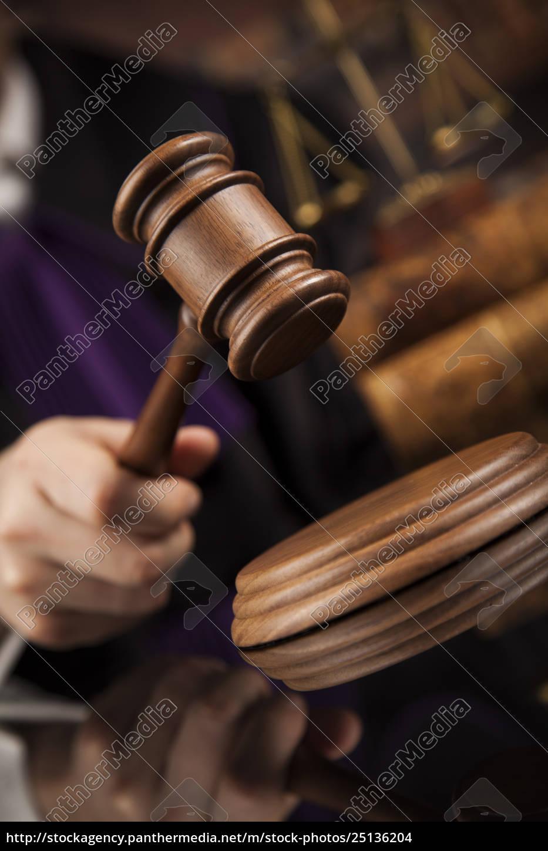 law, concept, , male, judge, in, a - 25136204