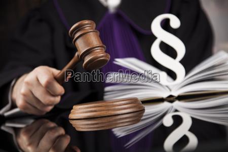 law, concept, , male, judge, in, a - 25136236