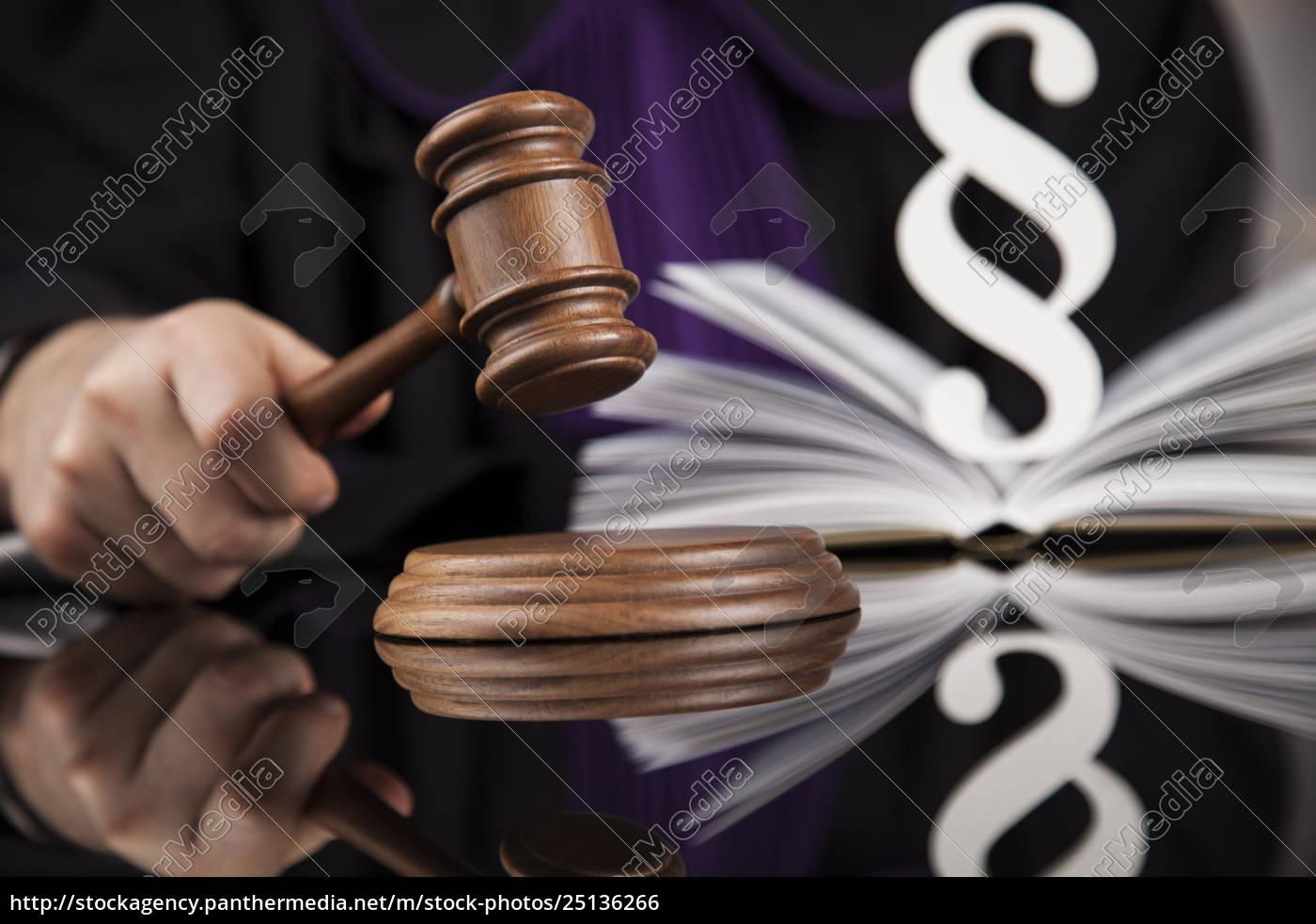 law, concept, , male, judge, in, a - 25136266