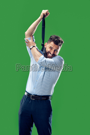 man trying to hang himself out