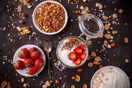 jar, of, homemade, granola - 25140526