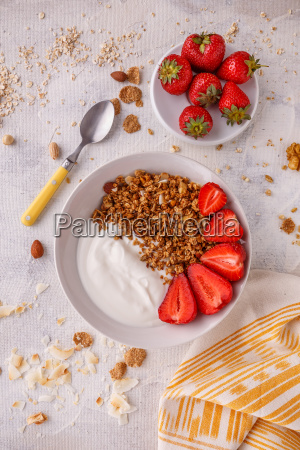 morning, granola, breakfast - 25140534
