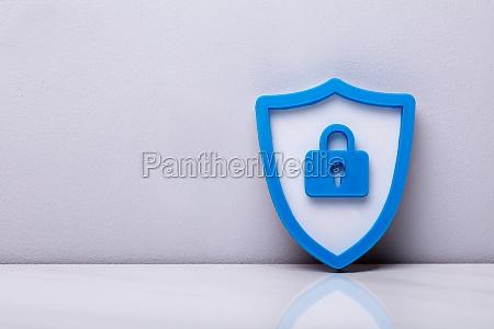 close up of a 3d security