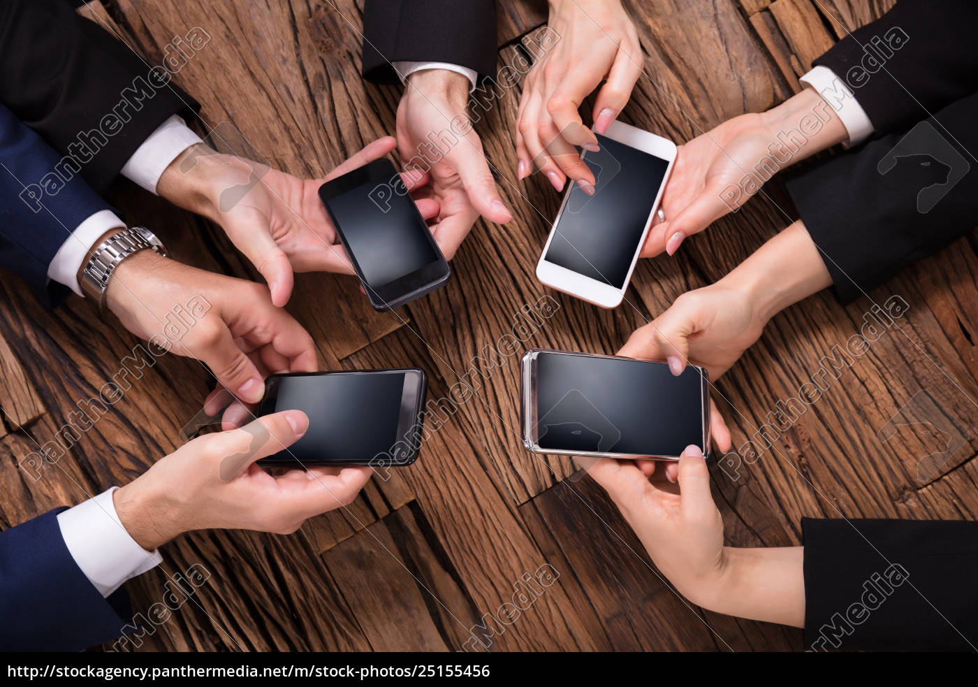 businesspeople, using, mobile, phone - 25155456
