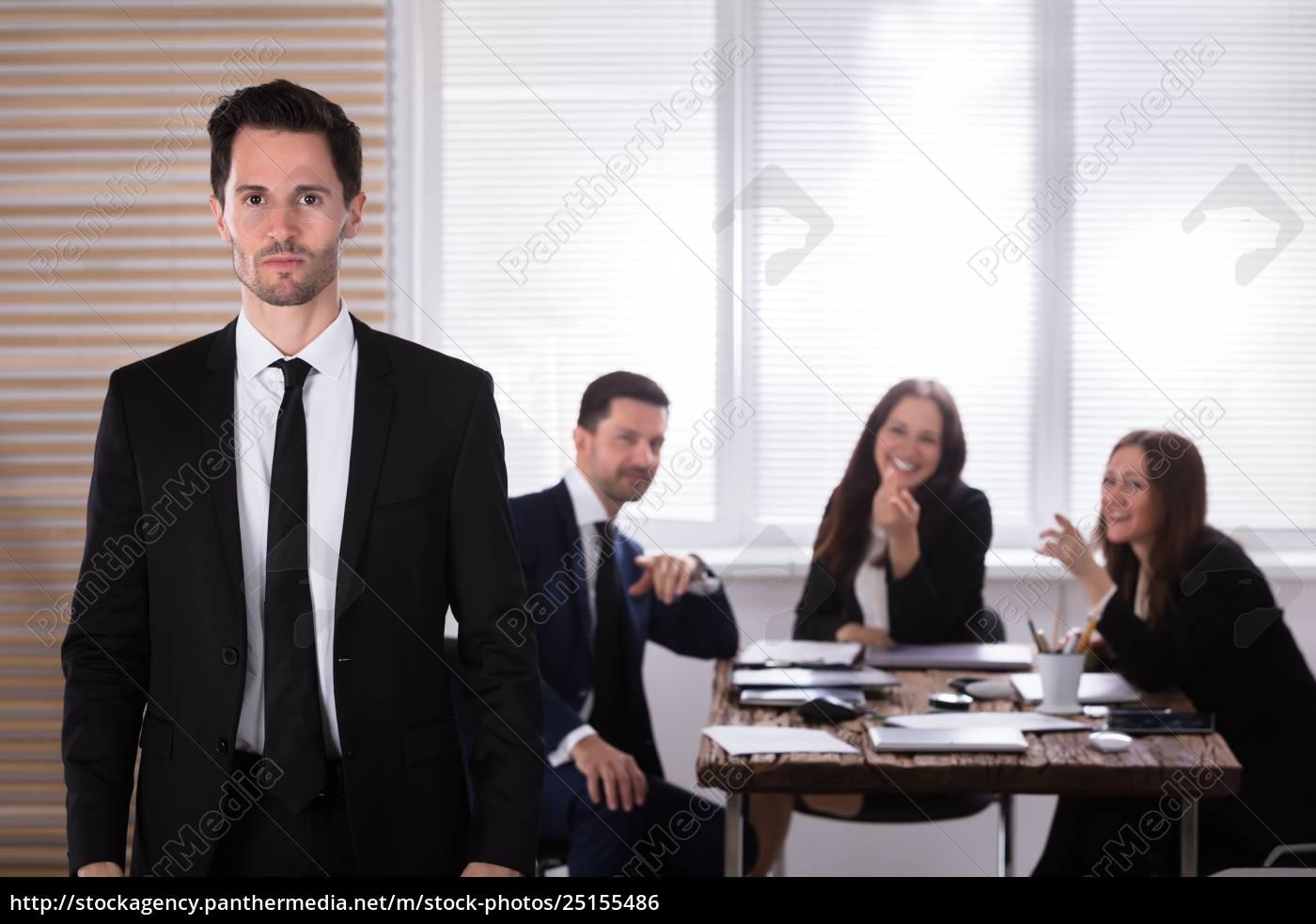 portrait, of, a, unhappy, businessman - 25155486